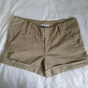 Alice +Olivia linen shorts